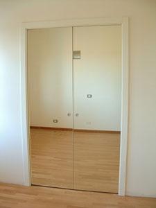 Falegnameria valsoni - Porte a specchio a scomparsa ...